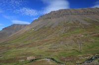 Etappe  Önundarfjorður – ĺsafjörđur – Súđavík – Steingrimsfjarđarheiđi – Drangsnes – Malarhorn