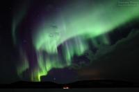 Ukonjärvi, Finnland, 19./20. März 2015 --- Geomagnetische Aktivität Kp2+