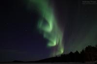 Ukonjärvi, Finnland, 25./26. März 2015 --- Geomagnetische Aktivität Kp3+