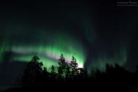 Ukonjärvi, Finnland, 25./26. März 2015 --- Geomagnetische Aktivität Kp2o