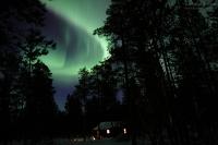 Ukonjärvi, Finnland, 26./27. März 2015 --- Geomagnetische Aktivität Kp3o