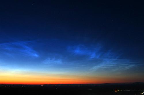 Nachtleuchtende Wolken